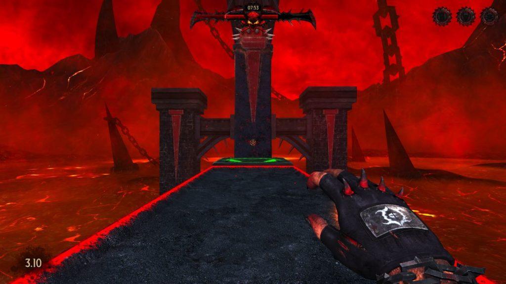 SEUM Speedrunners from Hell - niveau