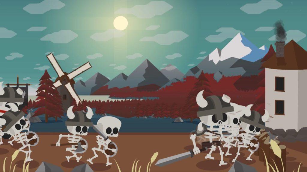 BoneBone - combat