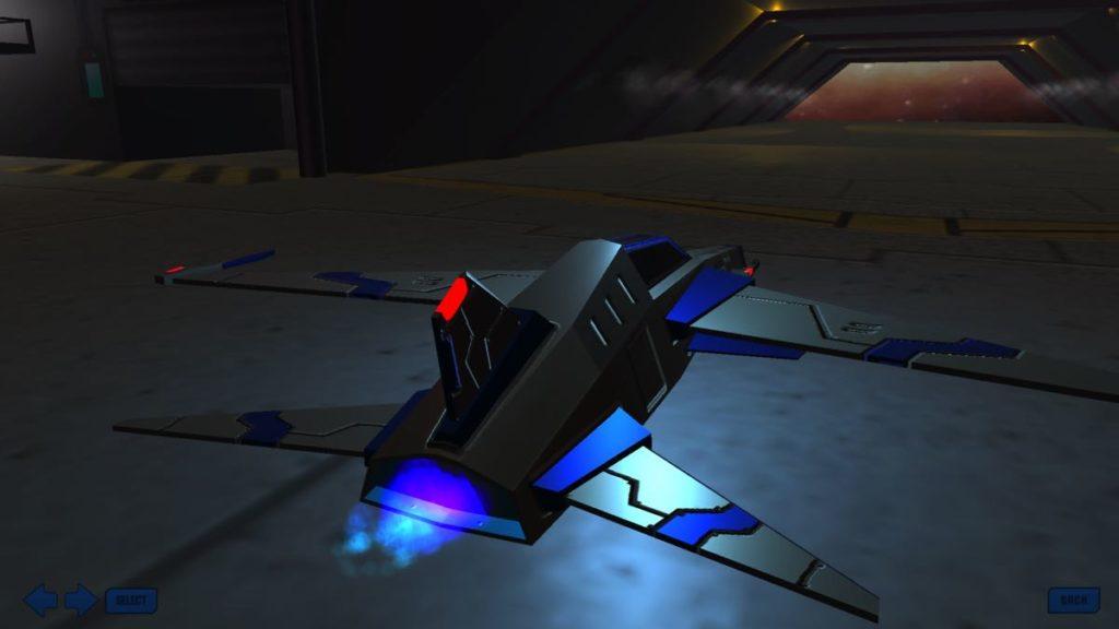 Infinity Wings - vaisseau