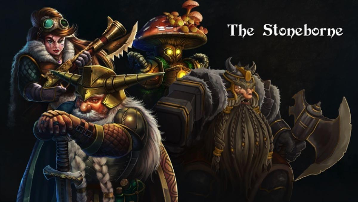 Legends of Callasia: The Stoneborne