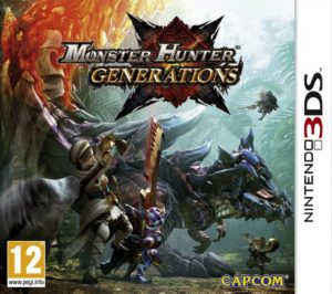 Monster Hunter Generations - cover