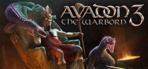 Avadon 3 - The Warborn - logo
