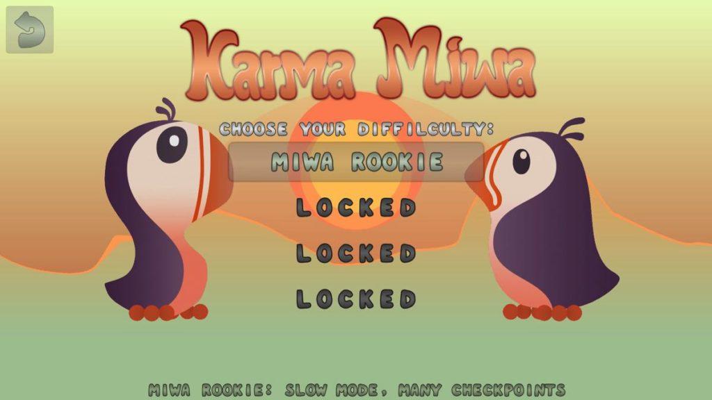 Karma Miwa - niveaux
