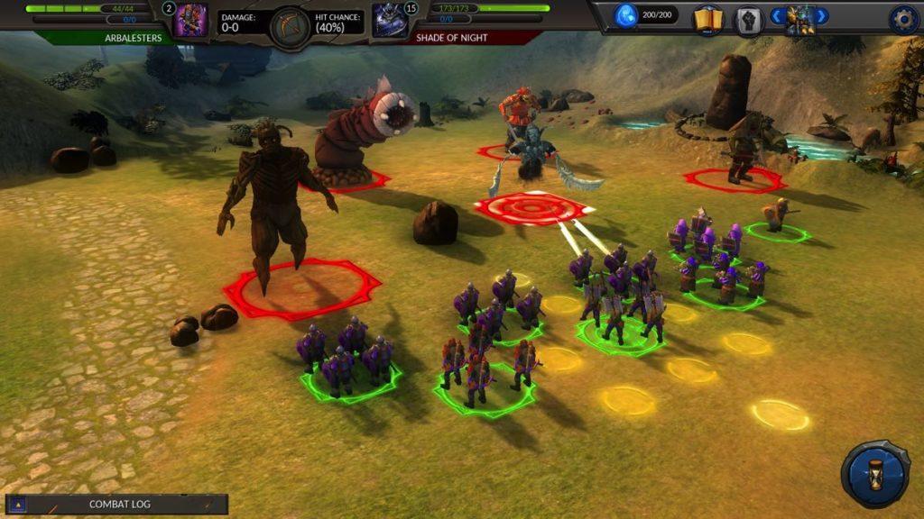 Planar Conquest - combat