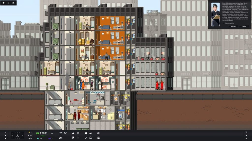 Project Highrise - niveau