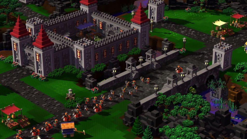 8-Bit Hordes - pont du chateau