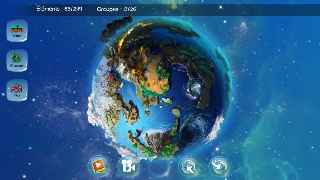 Doodle God - planète