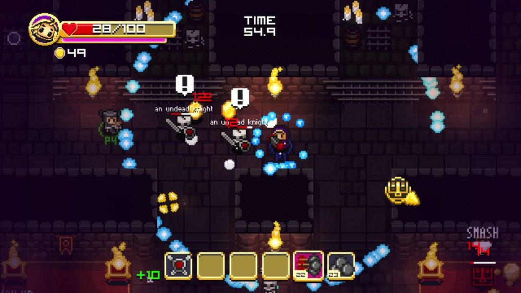 super-treasure-arena-bagarre