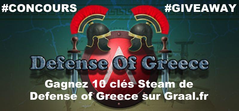 CONCOURS : Gagnez 10 clés Steam du jeu Defense Of Greece