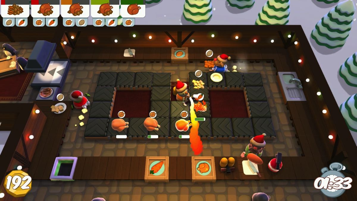 Overcooked: Festive Seasoning