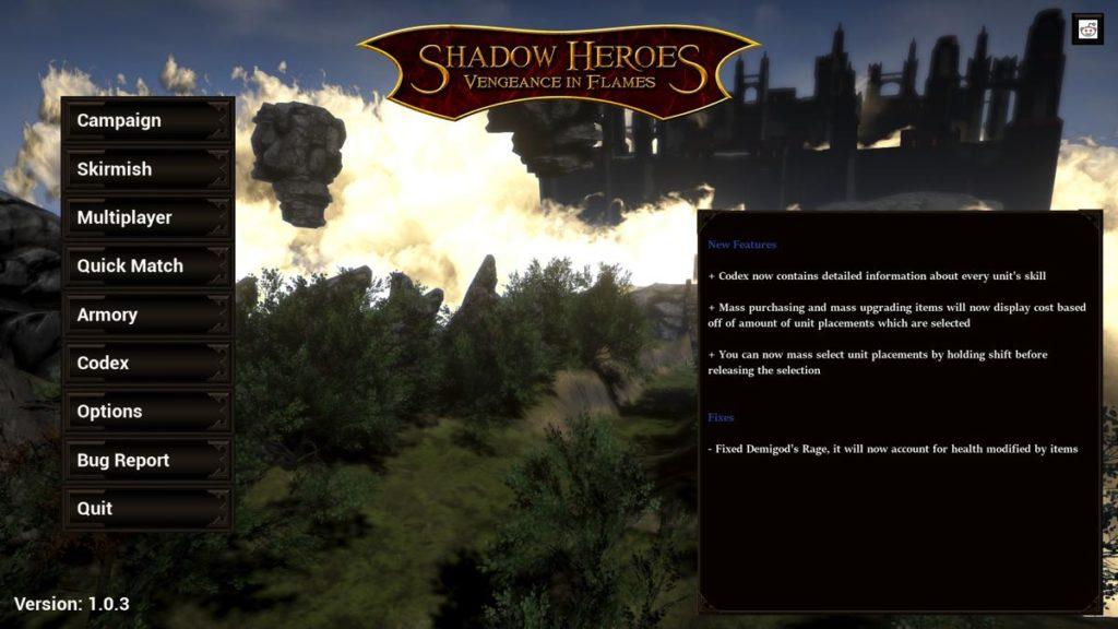 test shadow heroes vengeance in flames la version pour steam blog des jeux ind pendants. Black Bedroom Furniture Sets. Home Design Ideas