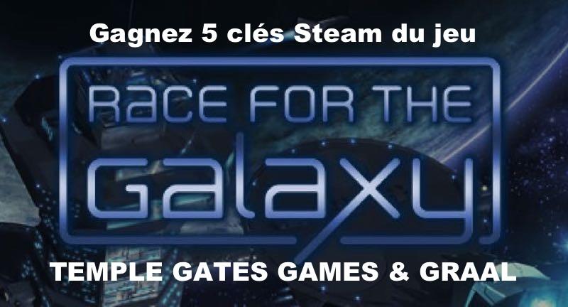 CONCOURS : Gagnez 5 clés Steam du jeu Race for the Galaxy