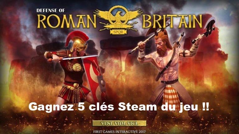 CONCOURS : Gagnez 5 clés Steam du jeu Defense of Roman Britain