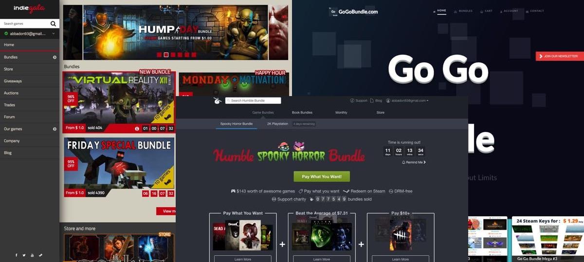 Les bundles ou compilations de jeux (2017)