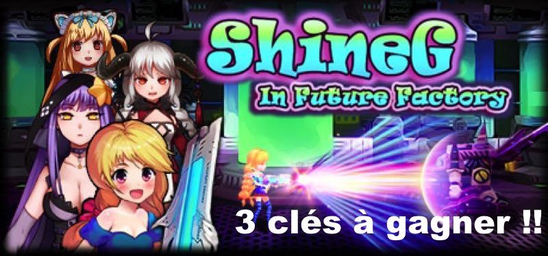 CONCOURS : Gagnez 3 clés Steam du jeu ShineG In Future Factory