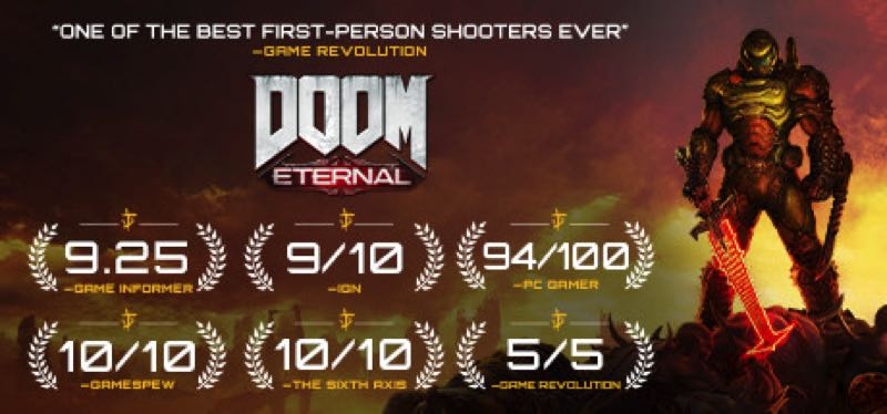 [TEST] DOOM Eternal – version pour Steam